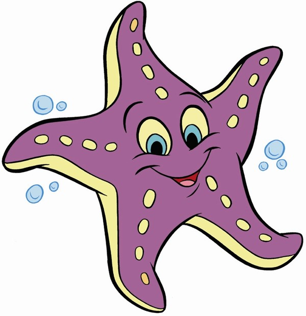 Dessin etoile de mer - Etoile de mer coloriage ...
