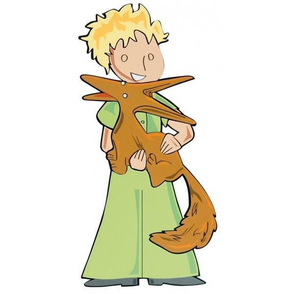 Le petit prince et le renard 2 me parti - Coloriage renard petit prince ...