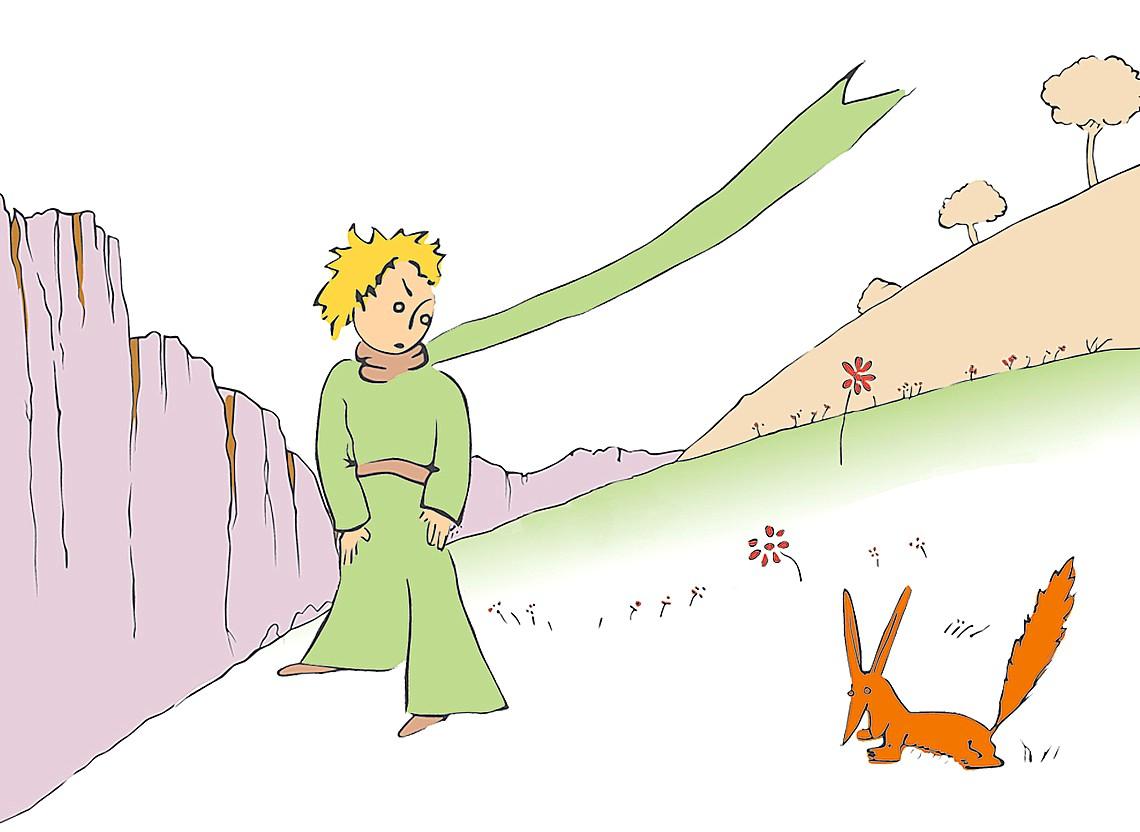 """Résultat de recherche d'images pour """"le renard et le petit prince"""""""